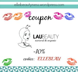 COUPOn codice sconto discount laubeauty laubeauty.com lau beauty elle beautyness discount