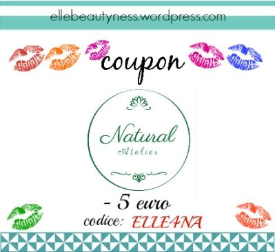 ELLE4NA natural atelier coccolade shampoo coupon codice sconto discount.jpg