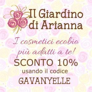 giardino di arianna ecobio eco bio codice sconto coupon code elle beautyness blog blogger makeup review .png