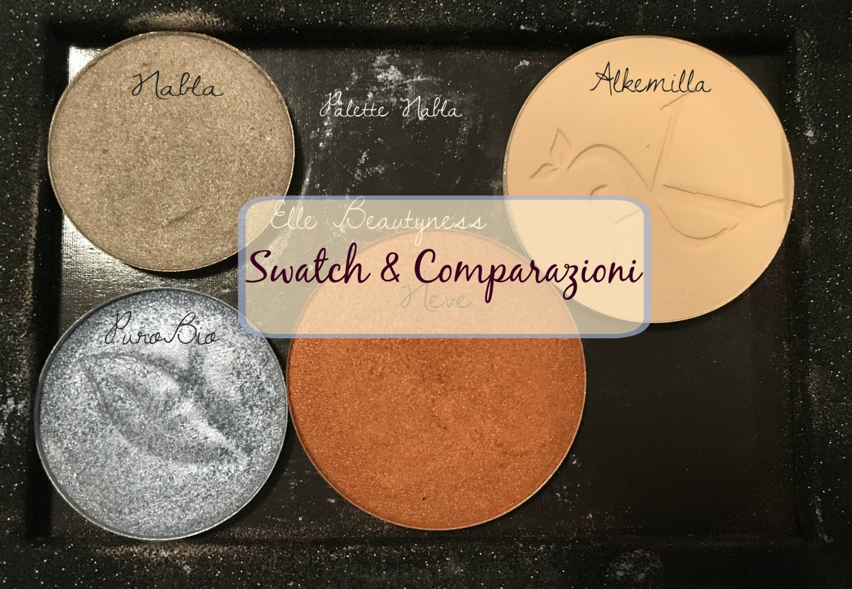 [Review] Swatch & Comparazioni Ombretti PuroBio