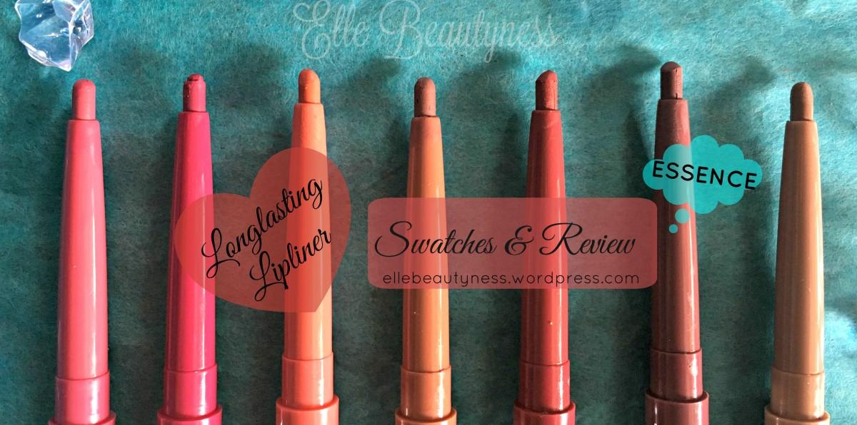 [Review] Longlasting Lipliner Essence Cosmetics - matite labbra & rossetti in abbinamento