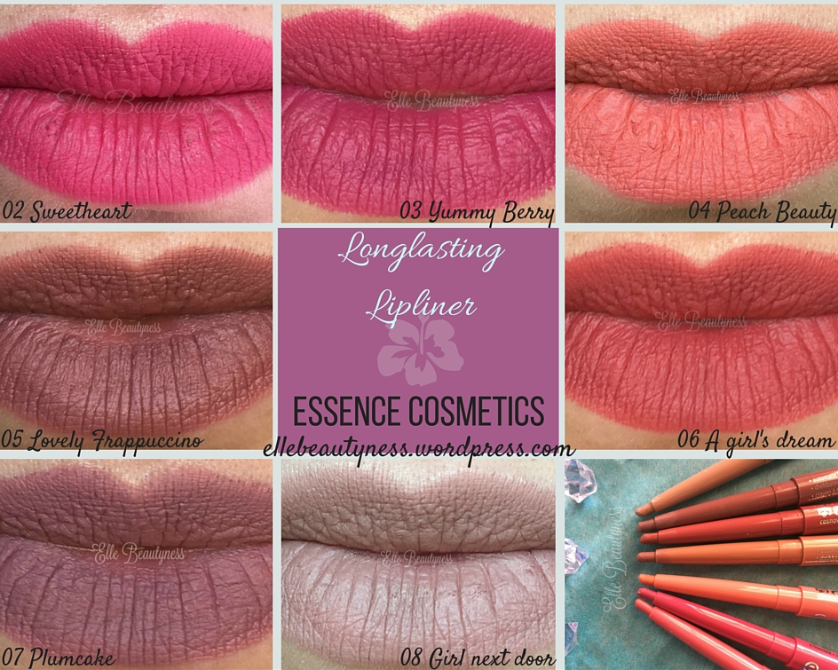 Review Longlasting Lipliner Essence Cosmetics  Matite -6116