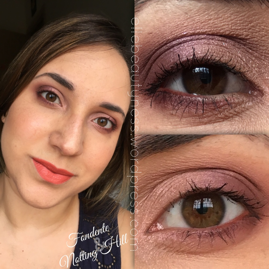 makeup blog elle beautyness closeup eyes eyeshadow ombretti minerali neve cosmetics mineral post days fondente notting hill best shopping pastello trucco swatch review.JPG