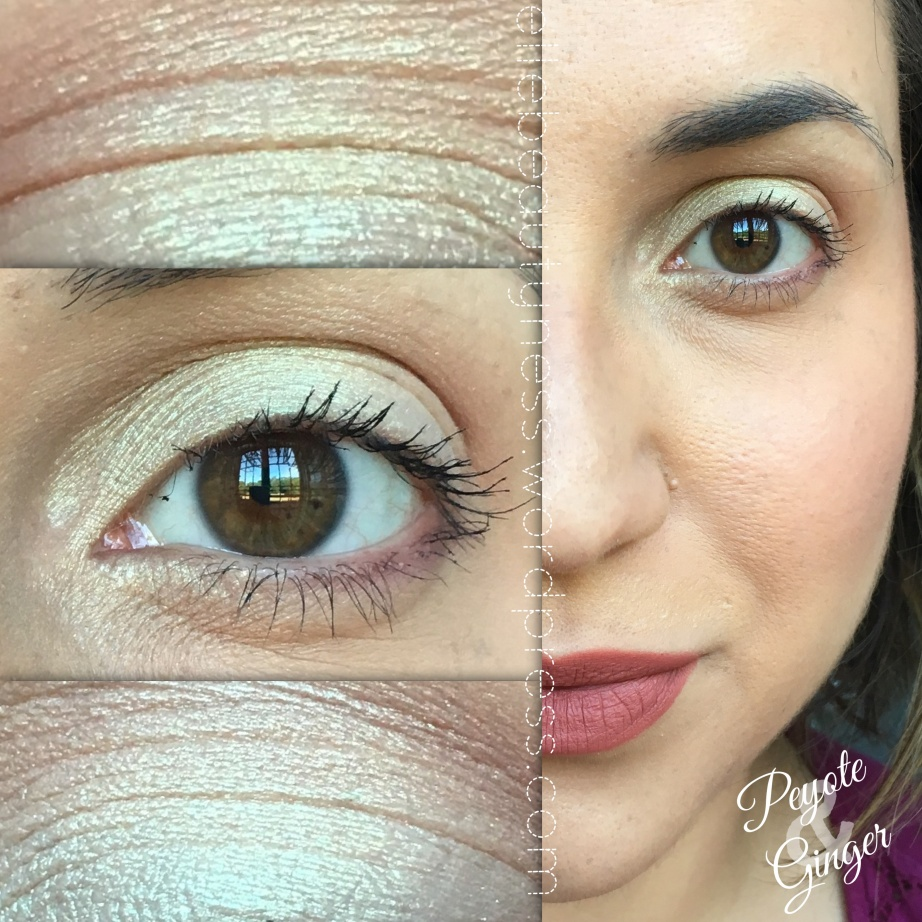 makeup blog elle beautyness closeup eyes eyeshadow ombretti minerali neve cosmetics mineral post days peyote ginger easy make up pastello trucco swatch review.JPG