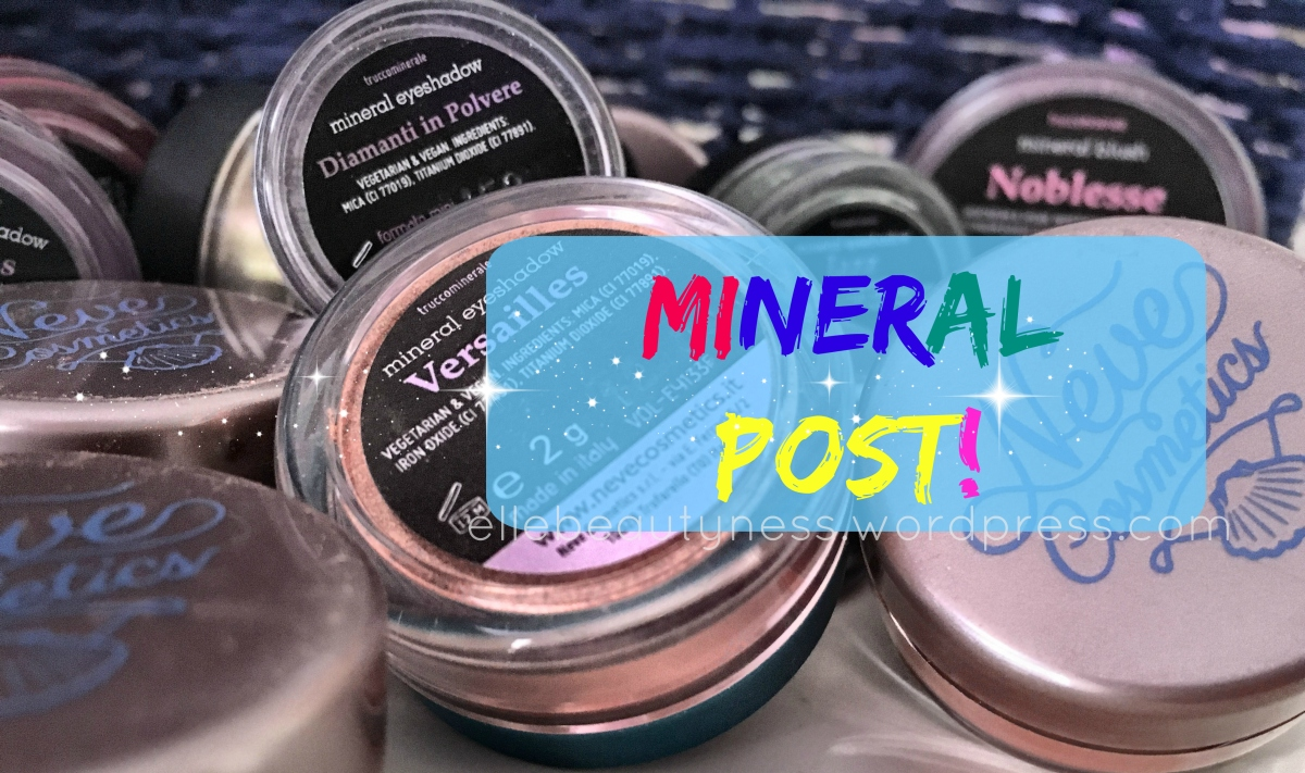 [Review] Mineral post! Swatch di tutti i nostri minerali Neve Cosmetics