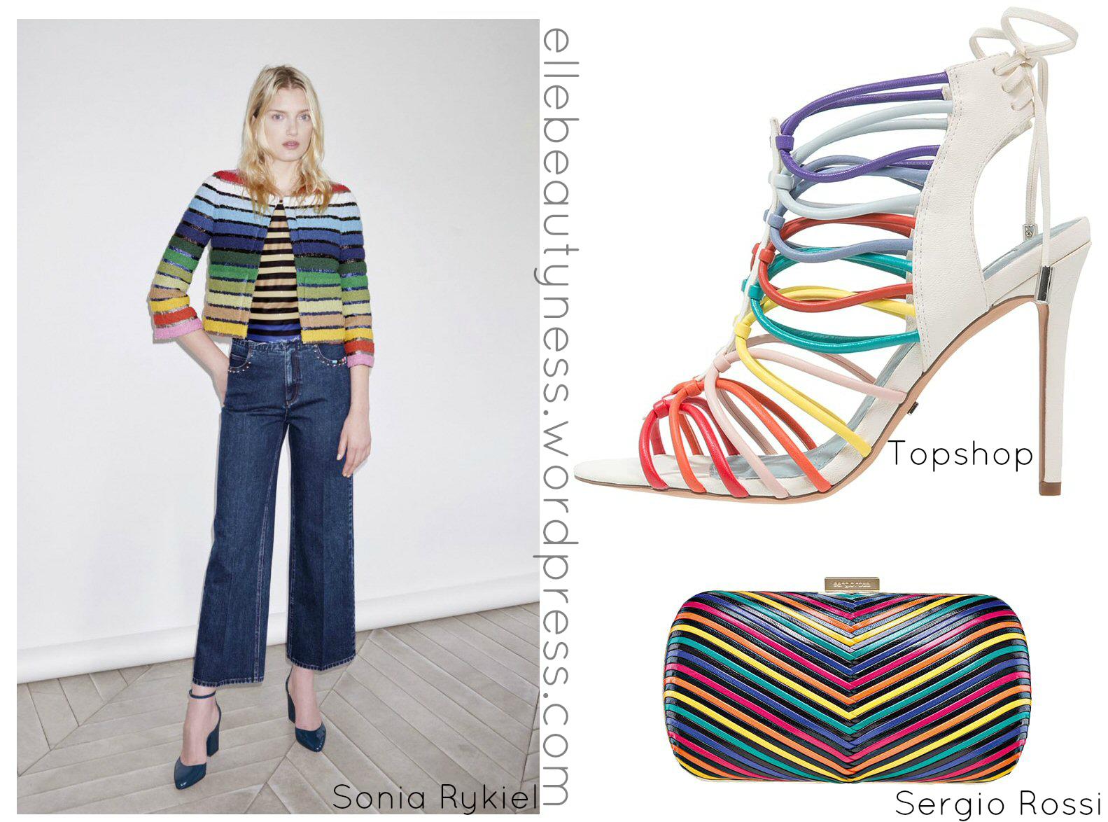 083bf7b80a54 rainbow colors tendenza moda 2016 colore capelli accessori moda ...