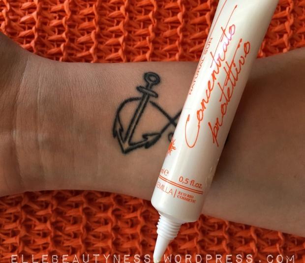 alkemilla natural sun suncream solari creme spf naturalefiltri chimici concentrato alta coprenza protettivo 50+ tatuaggi tattoo macchie cicatrici  ancora.JPG