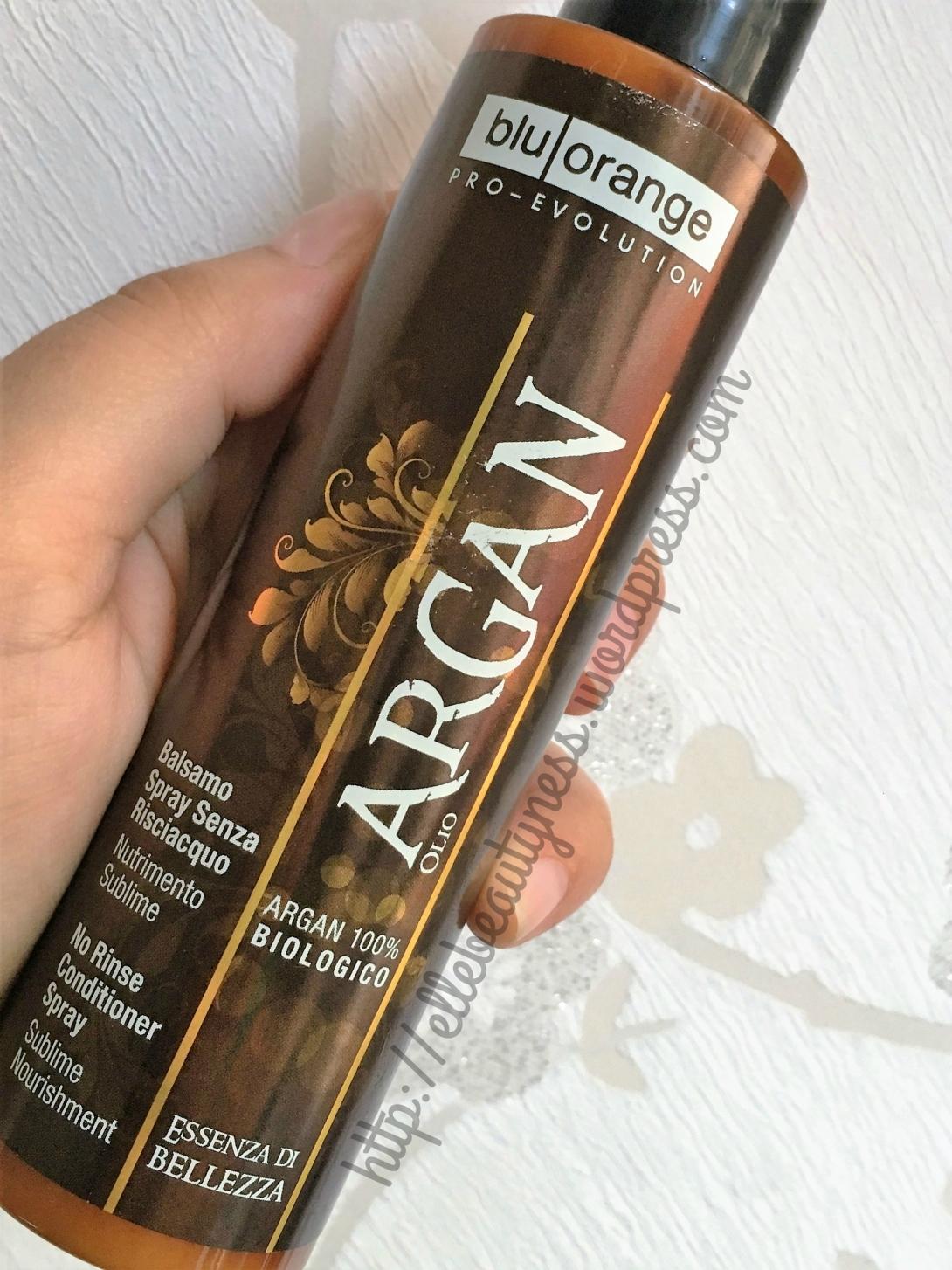 balsamo no risciacquo argan keratin cheratina shampoo maschera olio cristalli pure blu orange review recensione elle beautyness .jpg