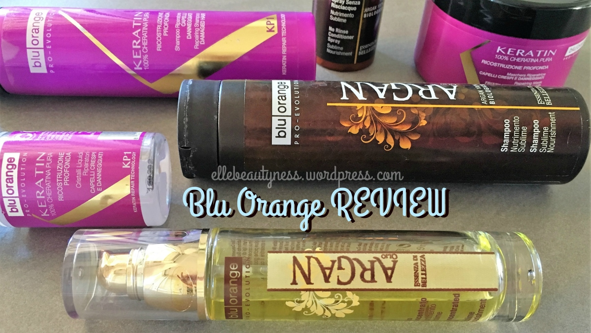 [Review] Blu Orange linea per capelli Argan Olio e Keratin