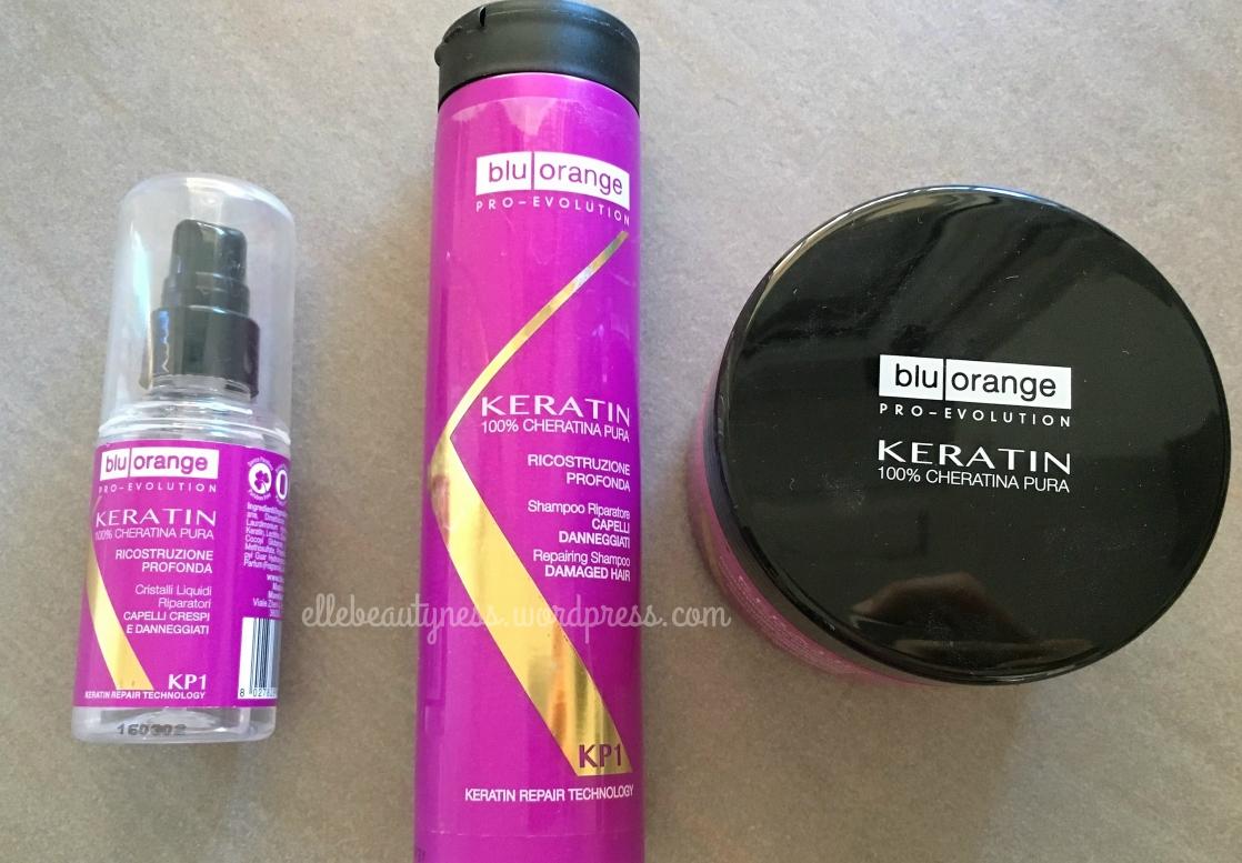 keratin cheratina shampoo maschera olio cristalli pure blu orange review recensione elle beautyness beauty haircare capelli.jpg